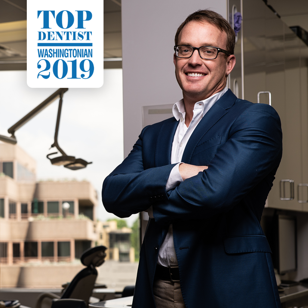 Dr. Charlie Coulter, Washingtonian Top Dentist 2019 recipient.